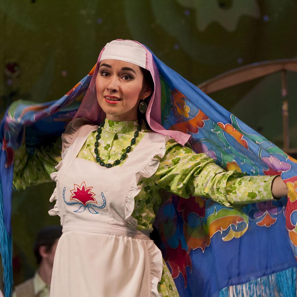 Татарский академический театр имени Галиасгара Камала, актриса