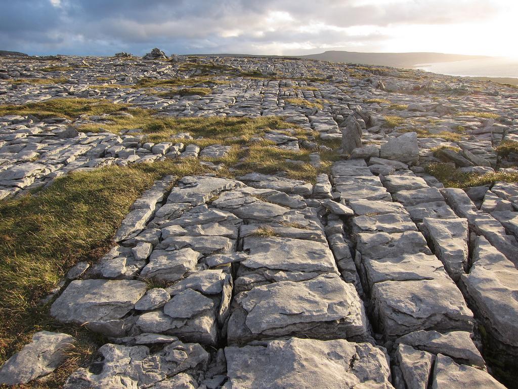 Буррен, плато в западной части Ирландии