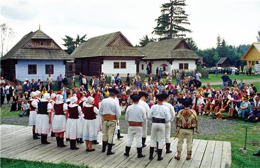 Деревня Pribylina, Словакия