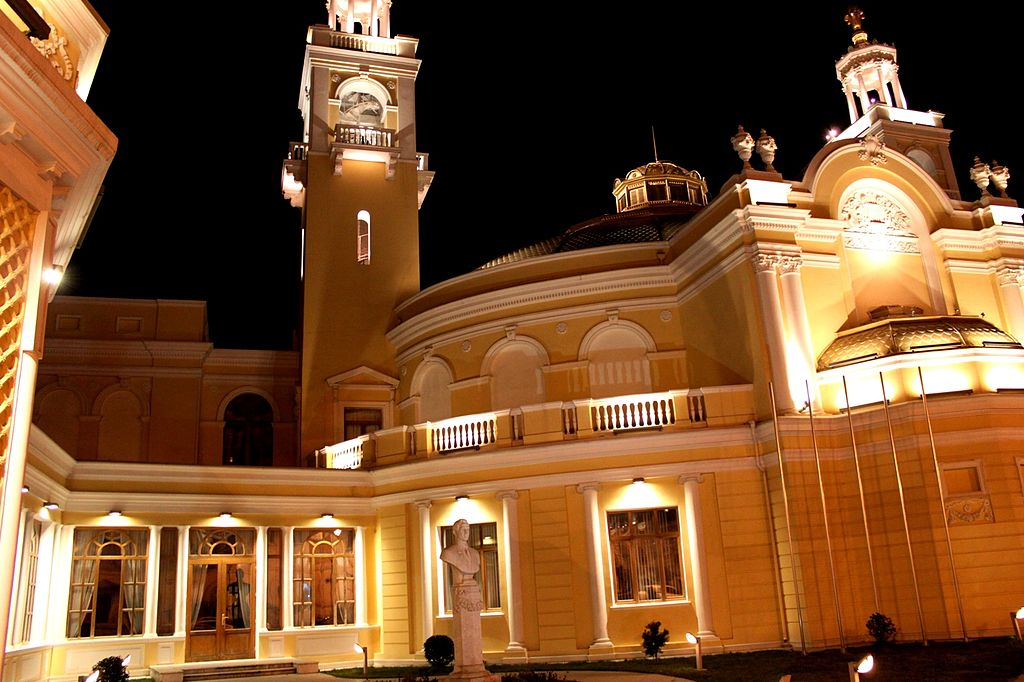 Азербайджанская государственная филармония, Баку