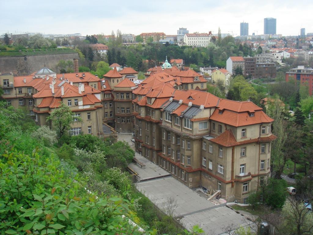 Вид на Нове Место в Праге