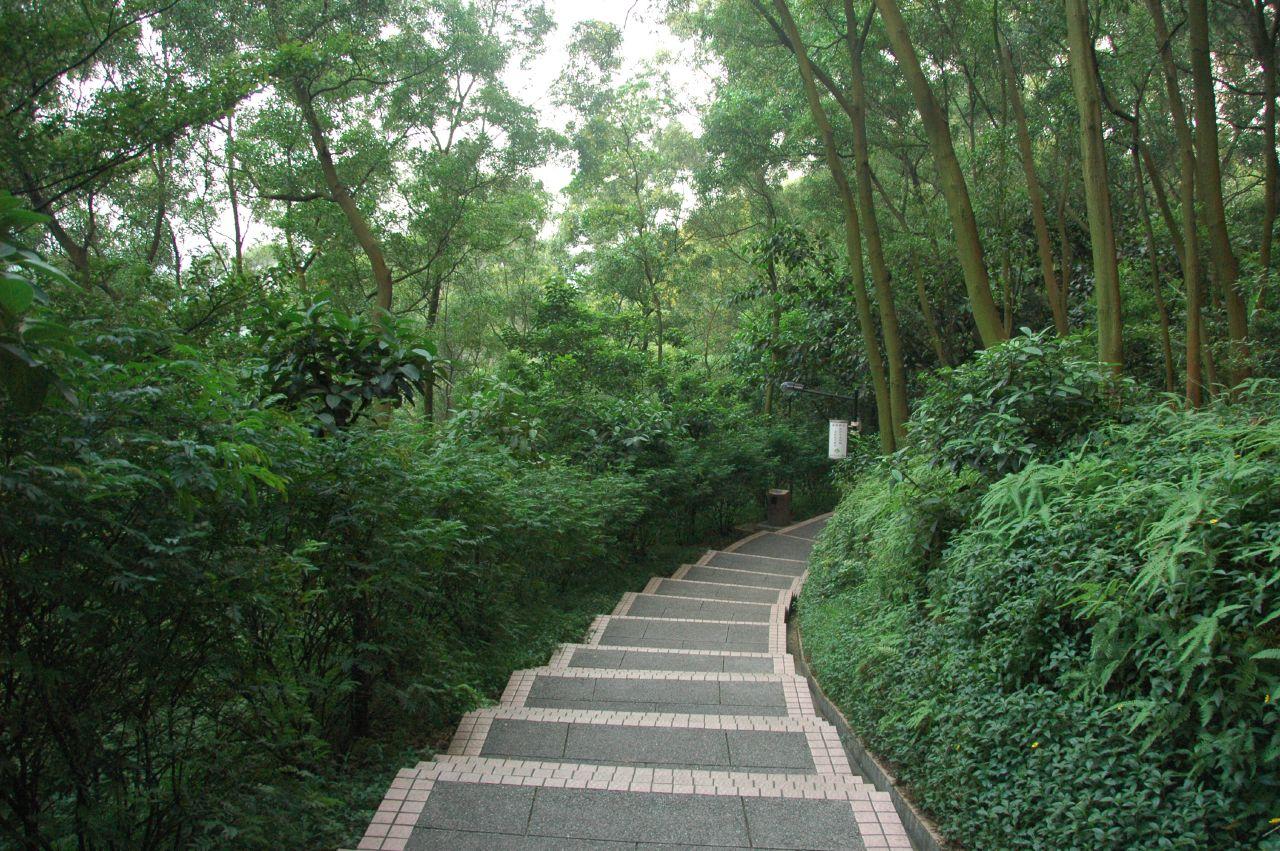 Горы Байюнь, горный хребет в Гуанчжоу