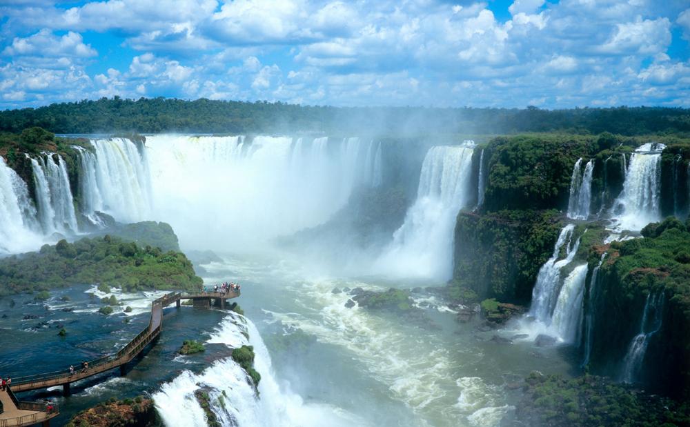 Красоты водопадов Игуасу