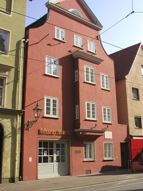 Мемориальный музей Леопольда Моцарта, Аугсбург.png