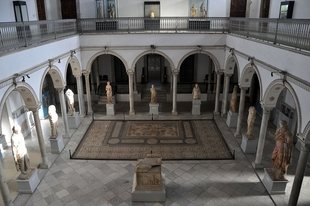 Музей Бардо, зал Карфагенского искусства