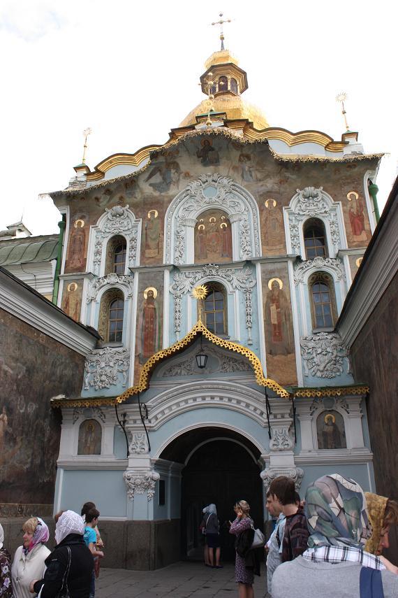 Надвратная церковь, Киево-Печерская лавра, Киев