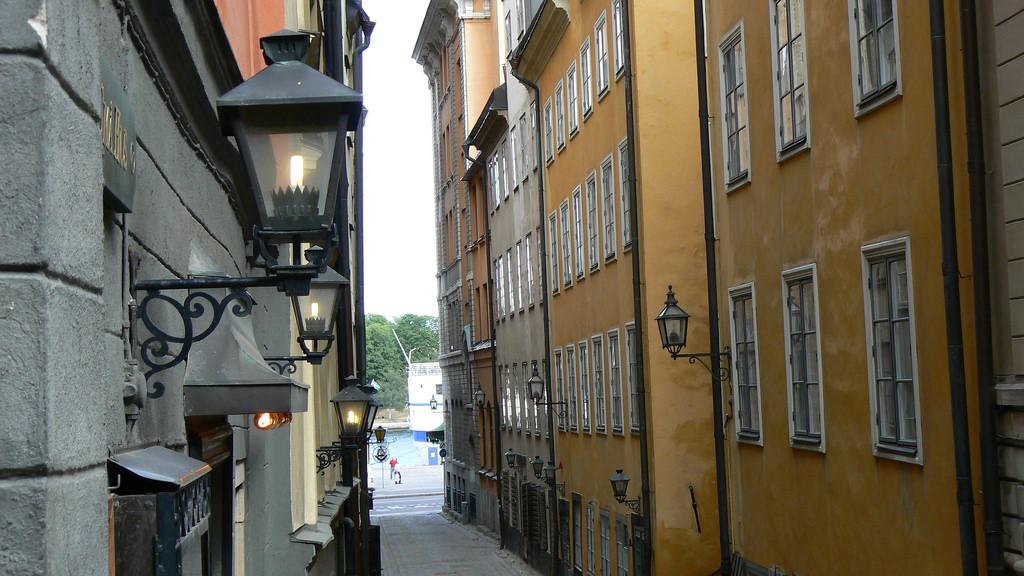 Улица в районе Гамла-Стан