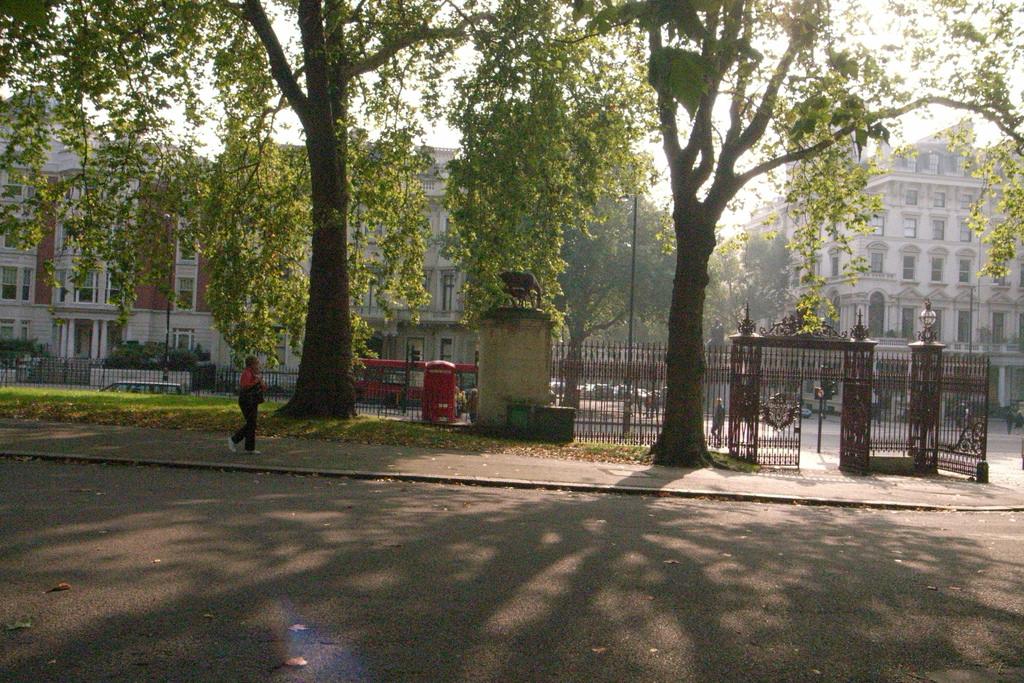 Гайд-парк в сентябре, Лондон