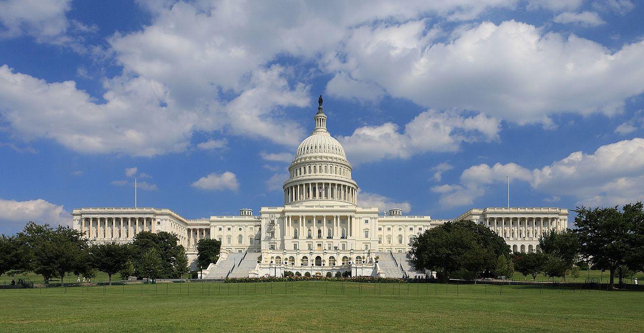 Капитолий в Вашингтоне, США
