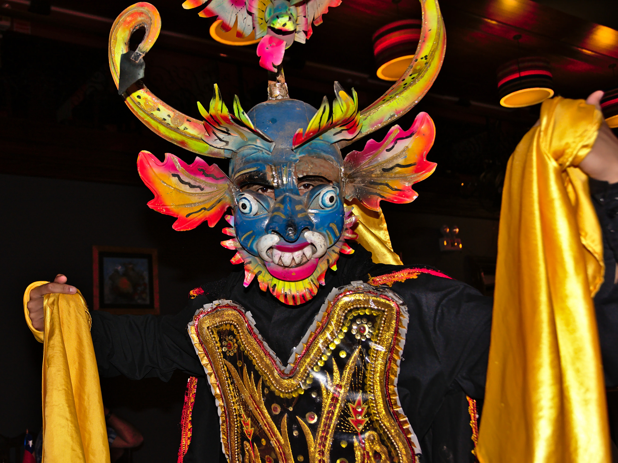 Участник танца в Перу