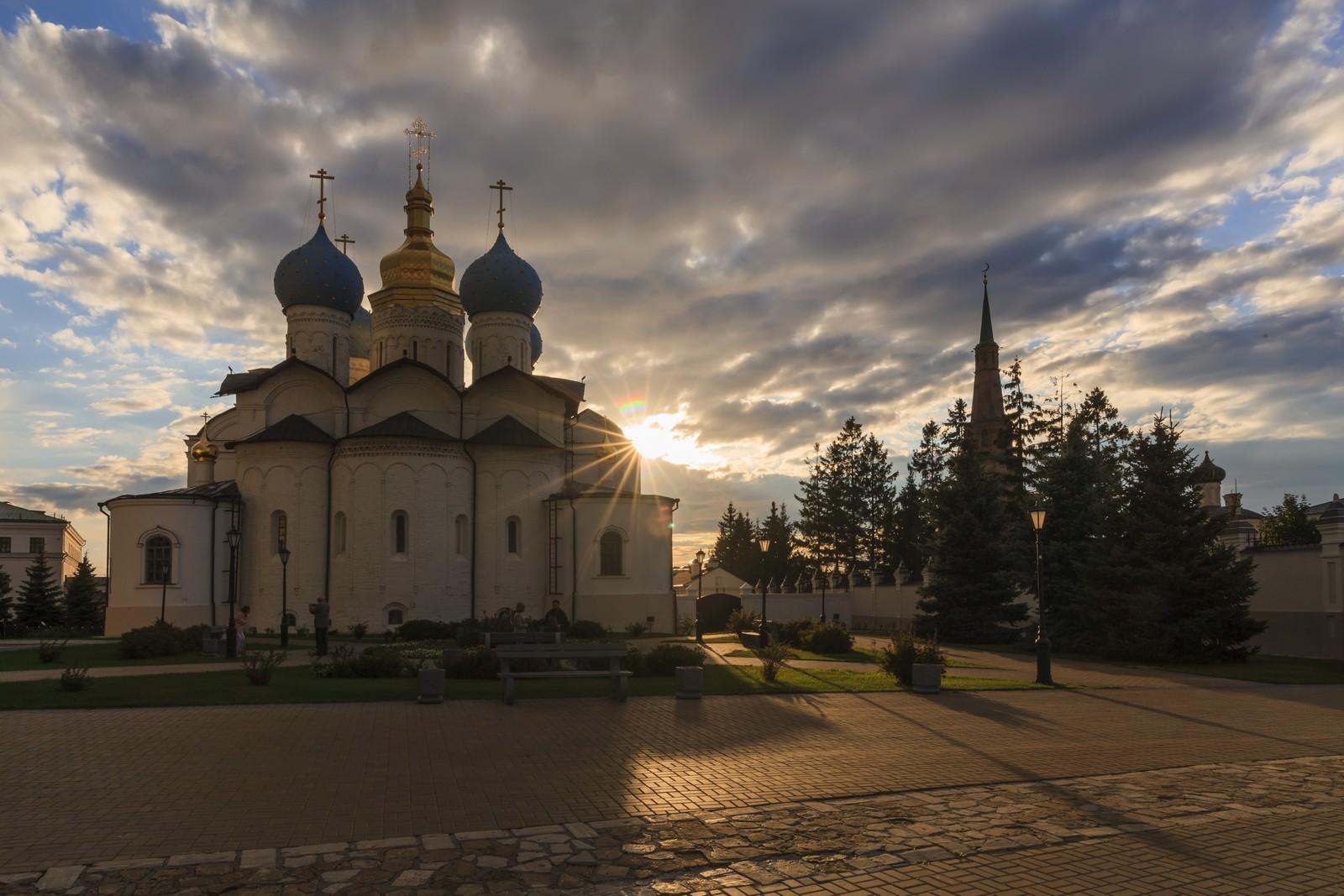 Благовещенский собор на территории Казанского кремля