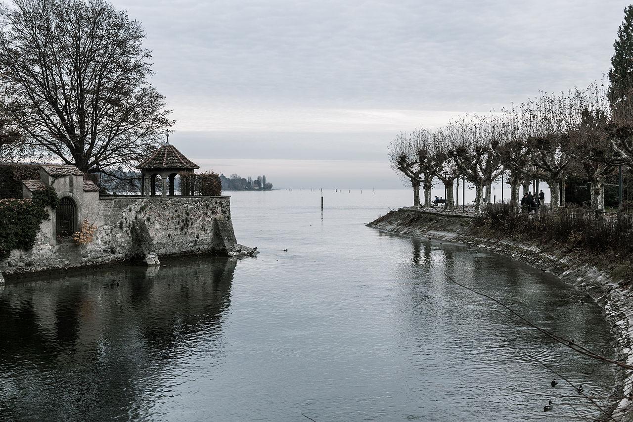 Боденское озеро, осень