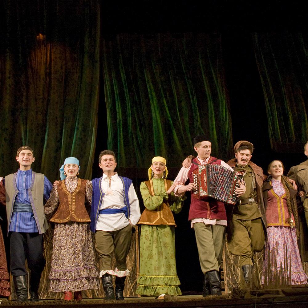 Один из самых популярных в Казани, театр им. Г. Камала