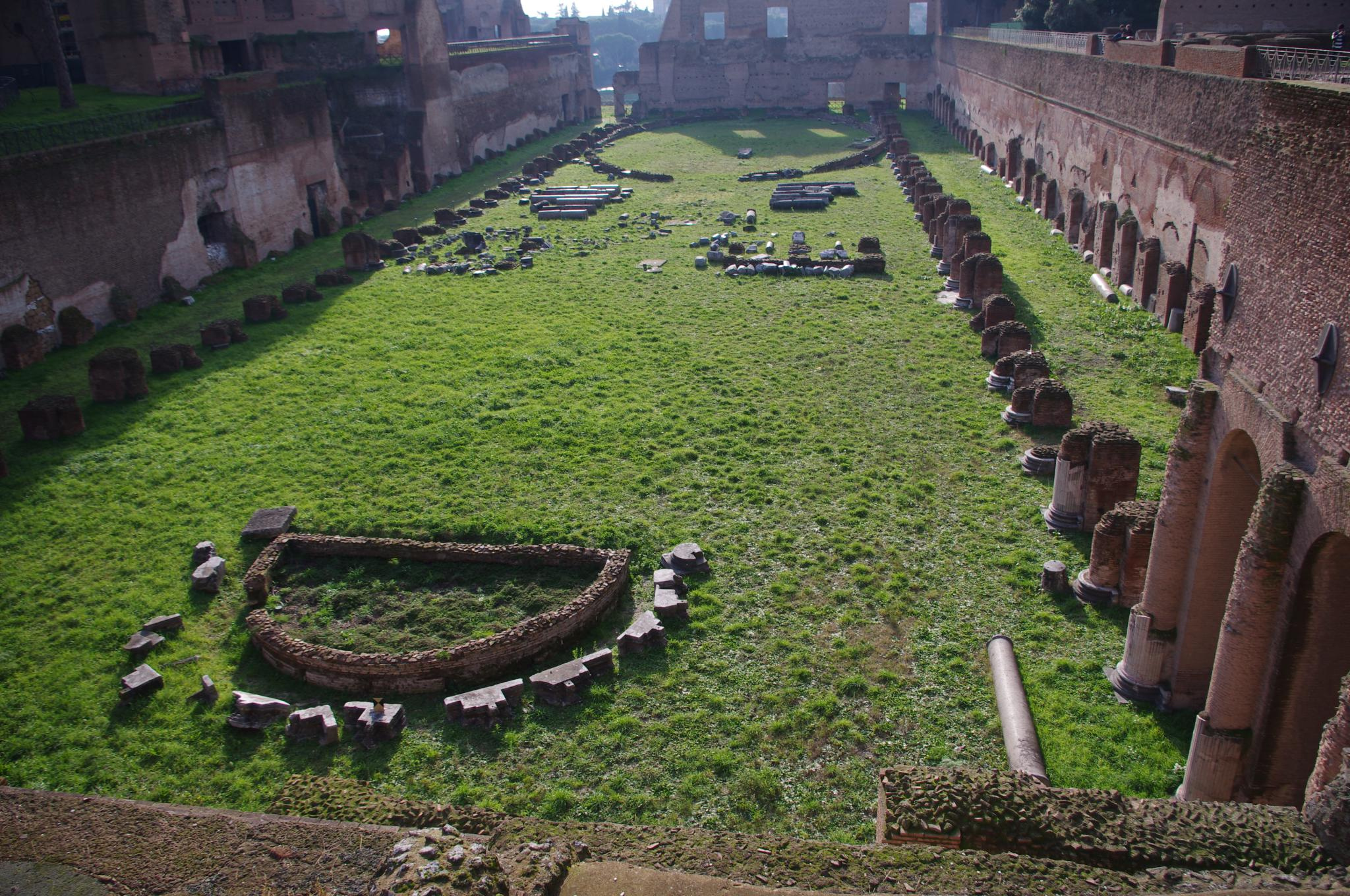 Палатин, стадион Домициана