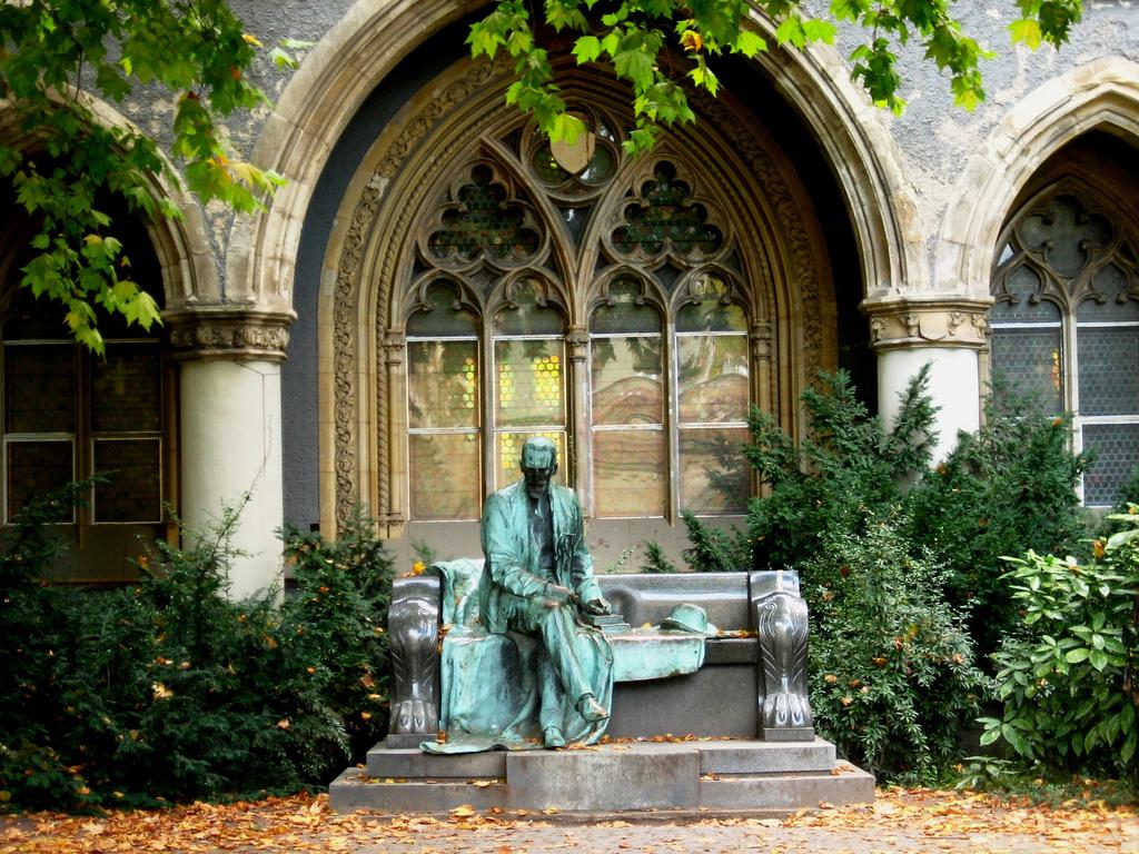 Памятник в парке Варошлигет, Будапешт