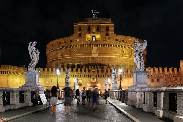 Rome night italy, architecture buildings..jpg