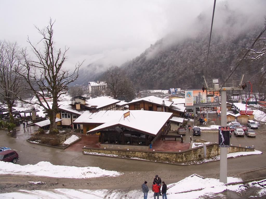 Бывшая нижняя станция горнолыжного комплекса Альпика-Сервис, Красная Поляна f361e3015ee