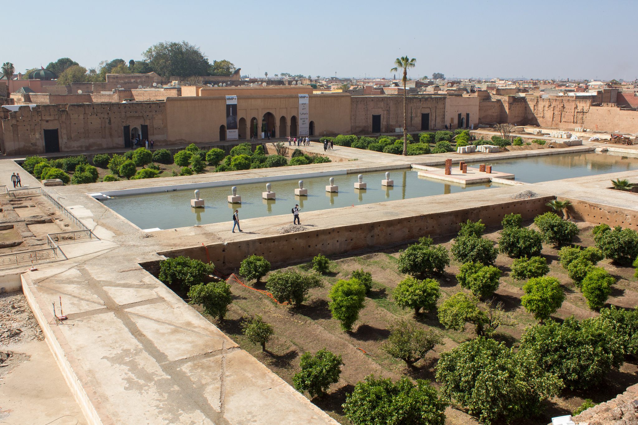 Дворец Эль-Бади, Марракеш