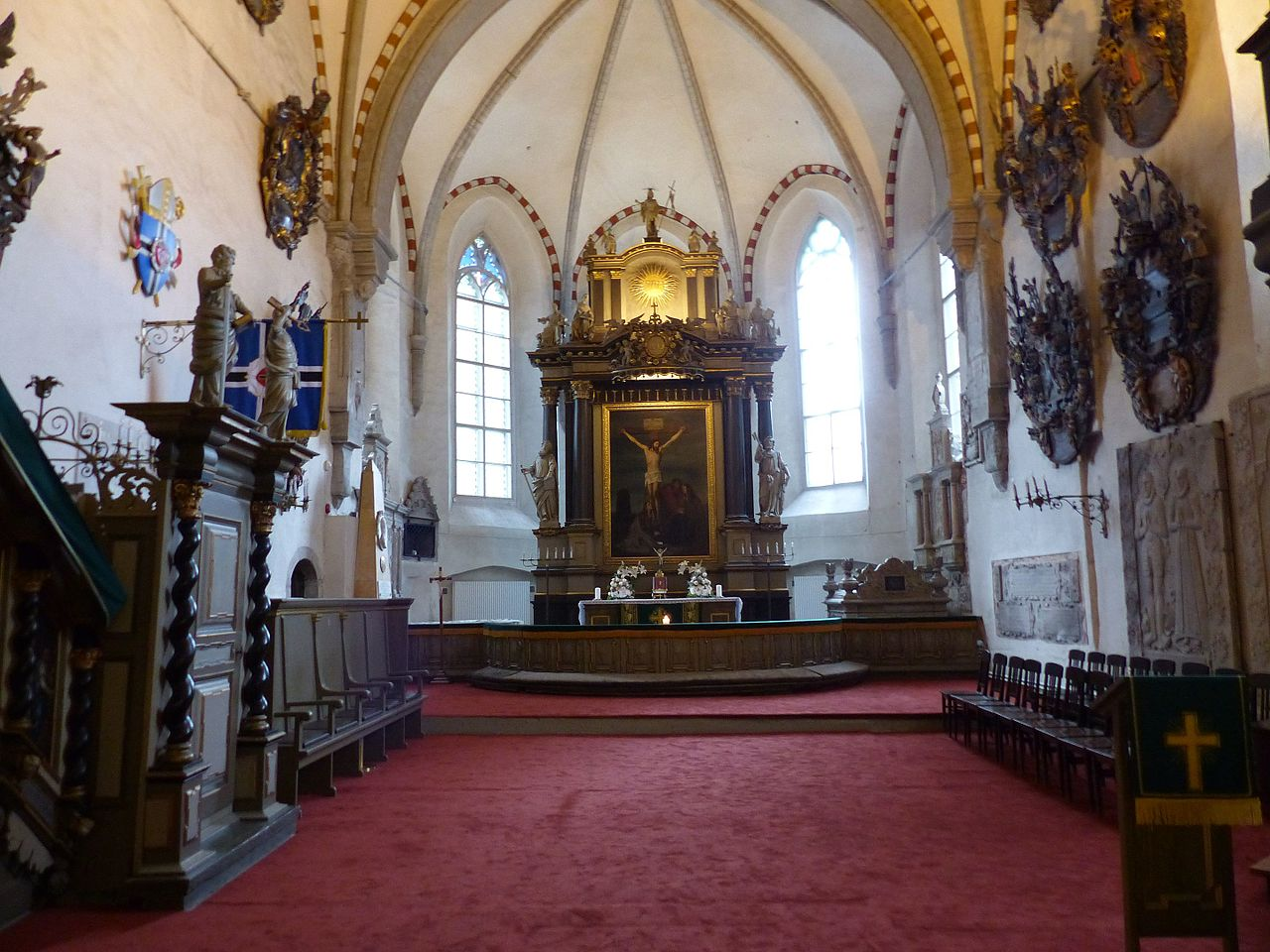 Домский собор в Таллине, интерьер