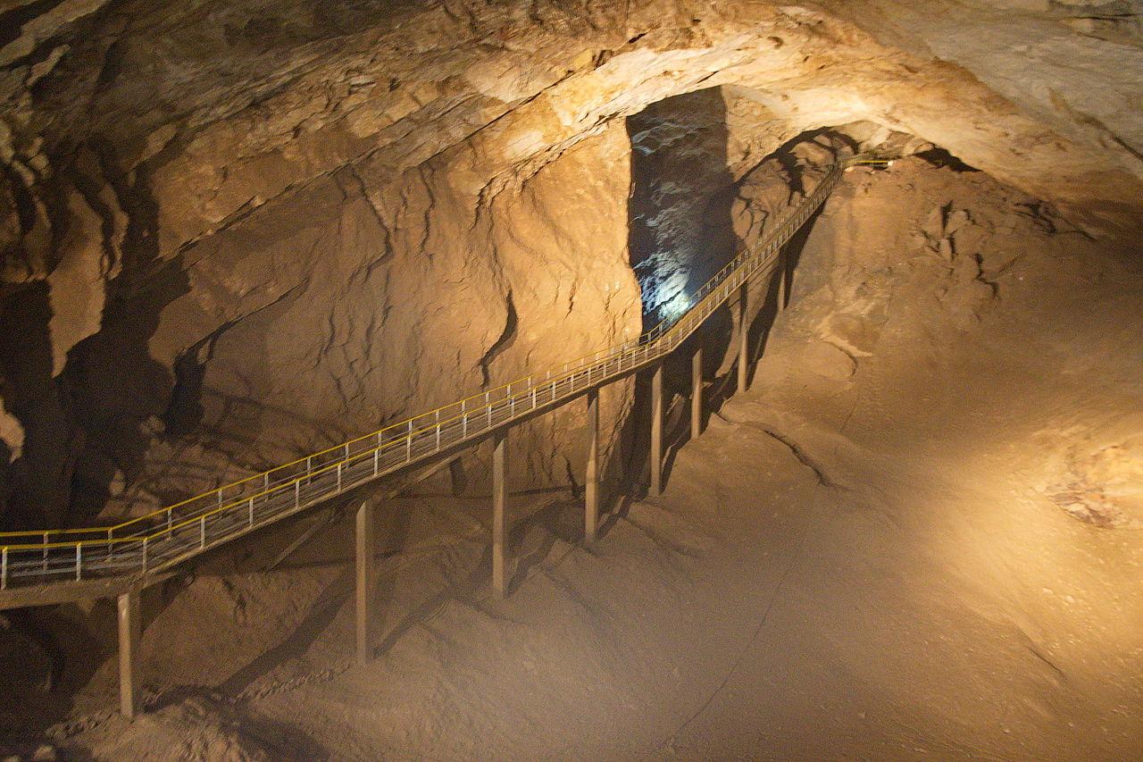 Новоафонская пещера, зал Спелеологов