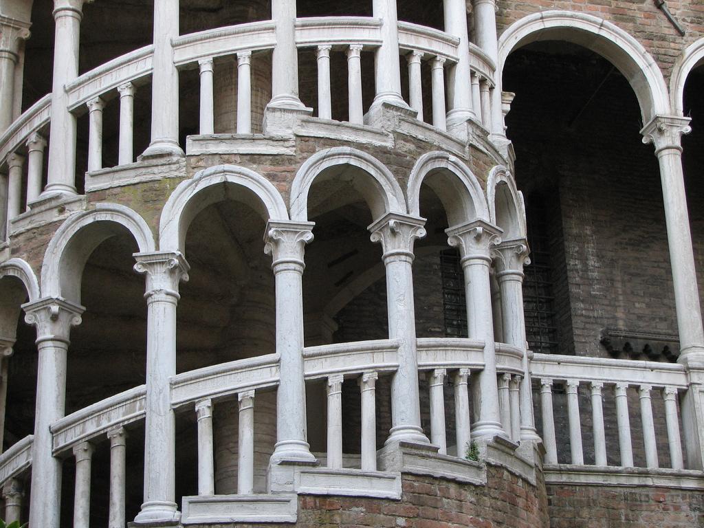 Палаццо Контарини дель Боволо, арки