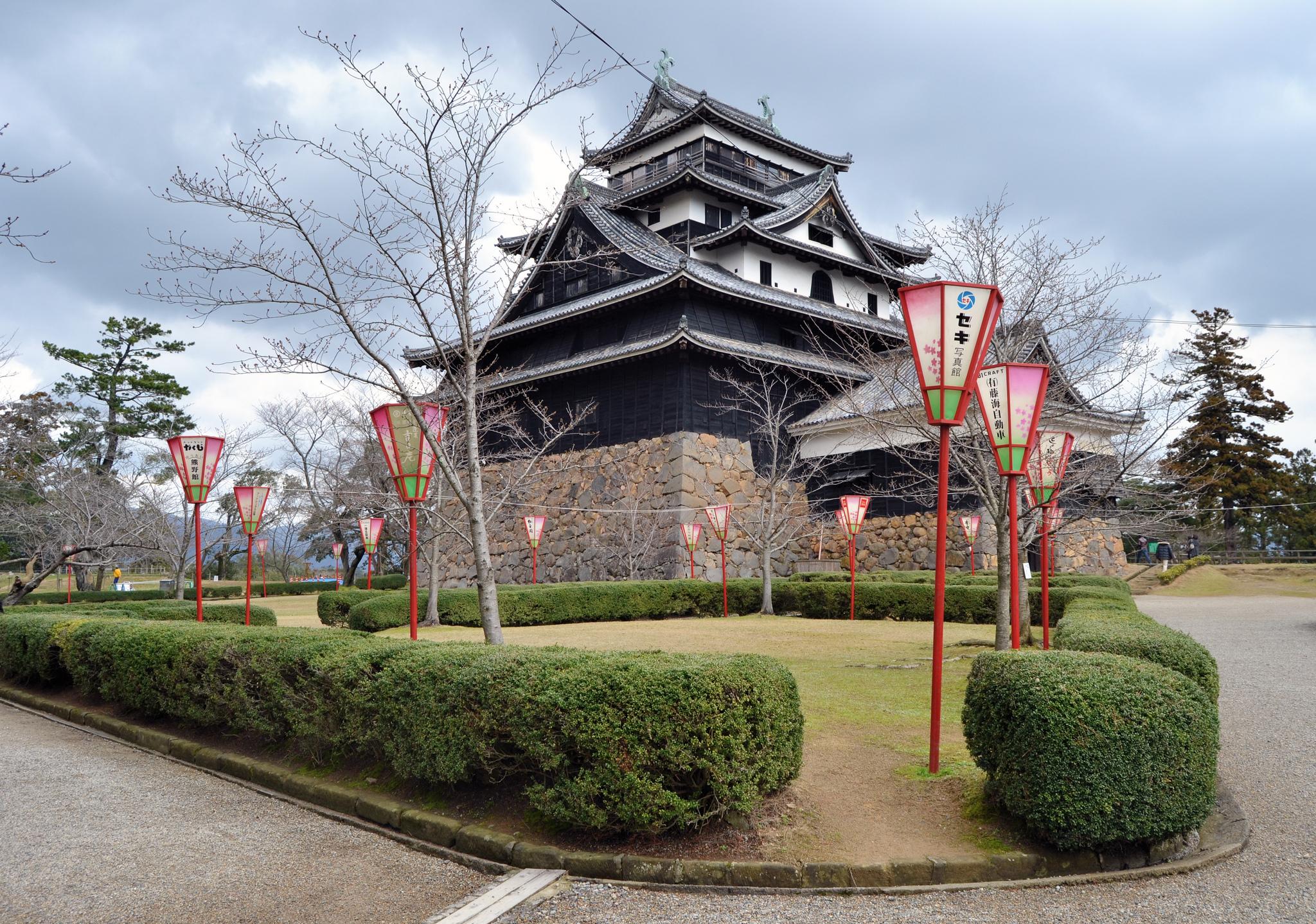 Средневековый замок Мацуэ