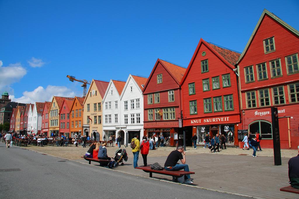 Старинная набережная Брюгген, Норвегия
