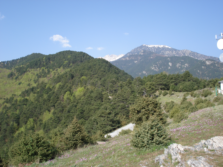Виды Олимпа, Греция