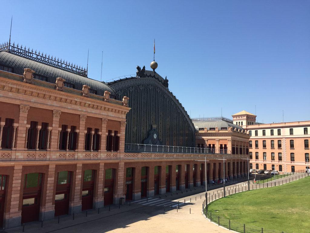 Вокзал Аточа в Мадриде, Испания