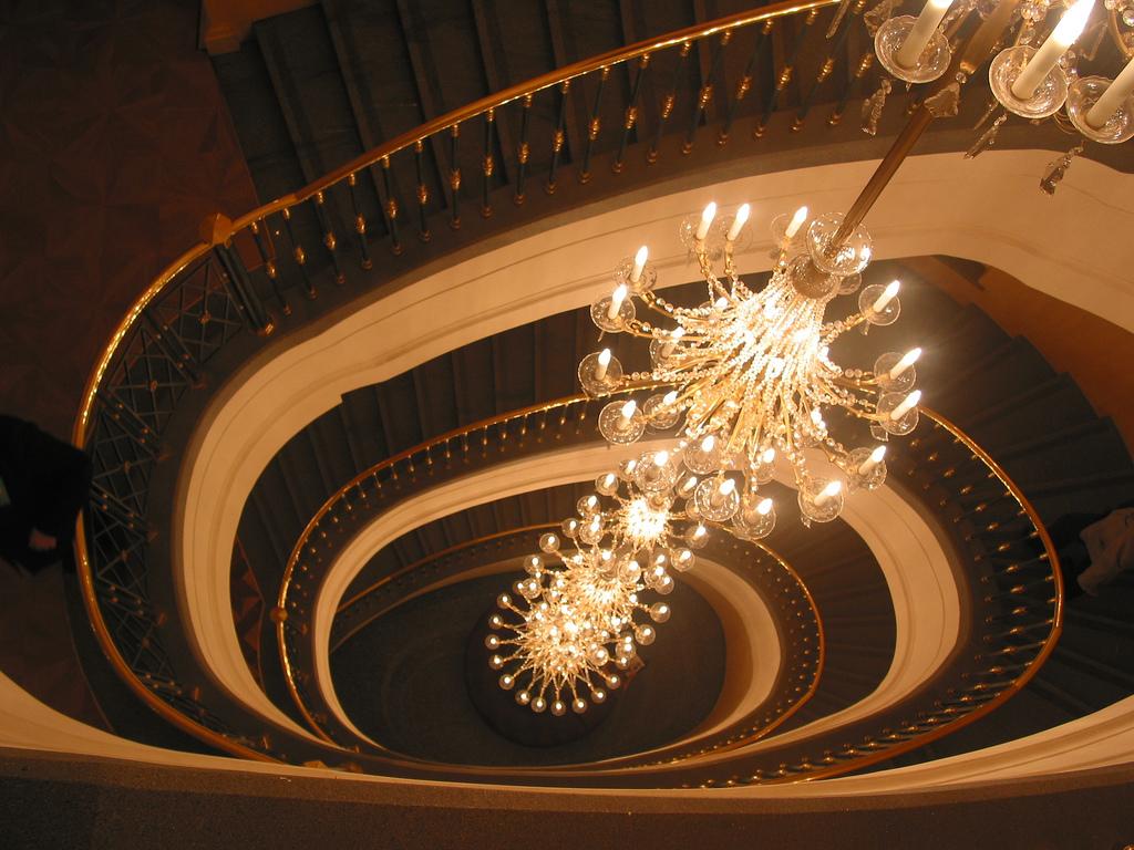 В Большом театре, Москва