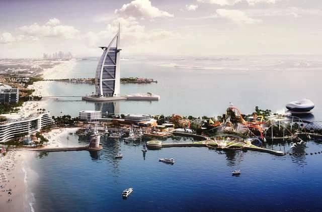Дубай построит новый курорт на двух искусственных островах - Фото