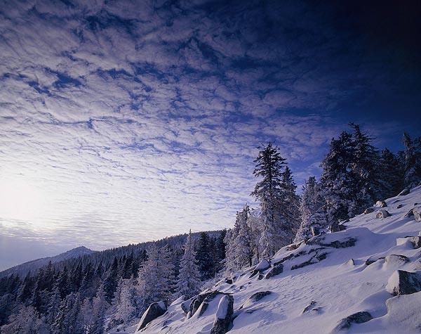 Зима в Танганае, Россия
