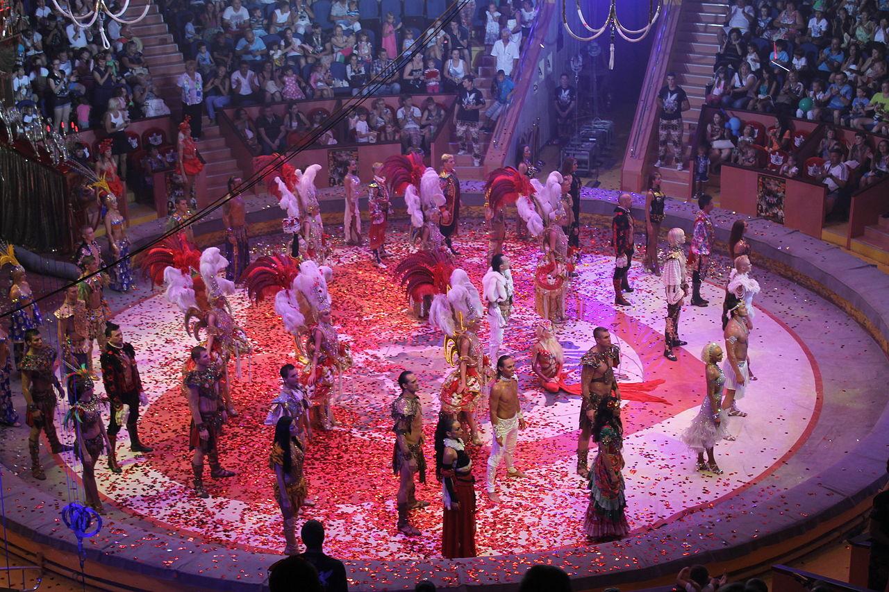 Сочинский государственный цирк, манеж