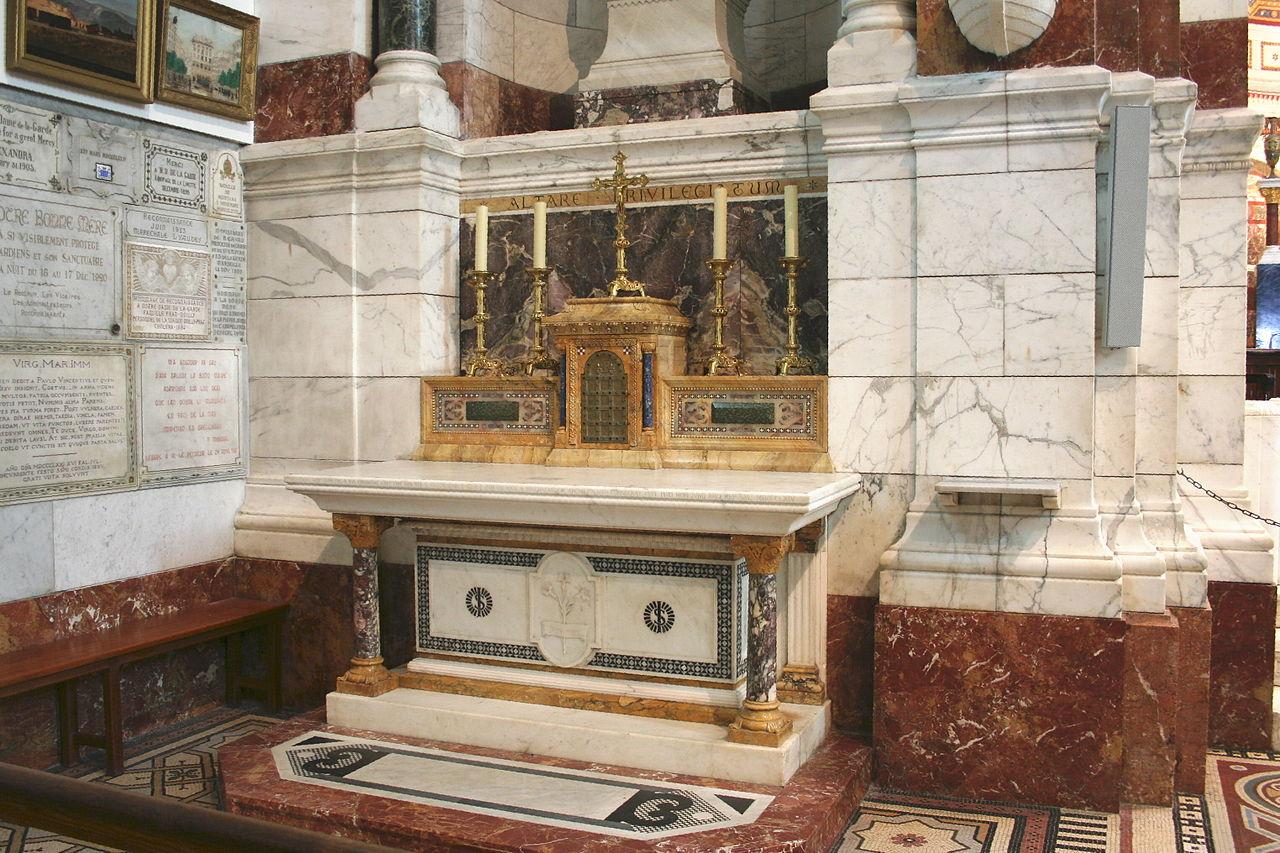 Базилика Нотр-Дам-де-ла-Гард, капелла святого Иосифа