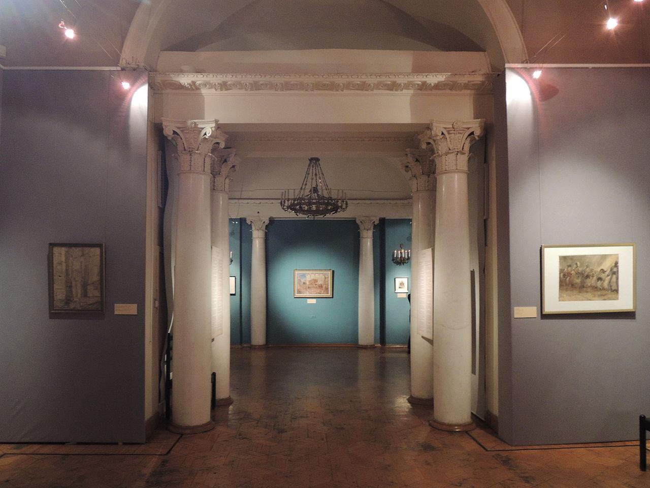 Государственный музей искусства народов Востока, интерьер