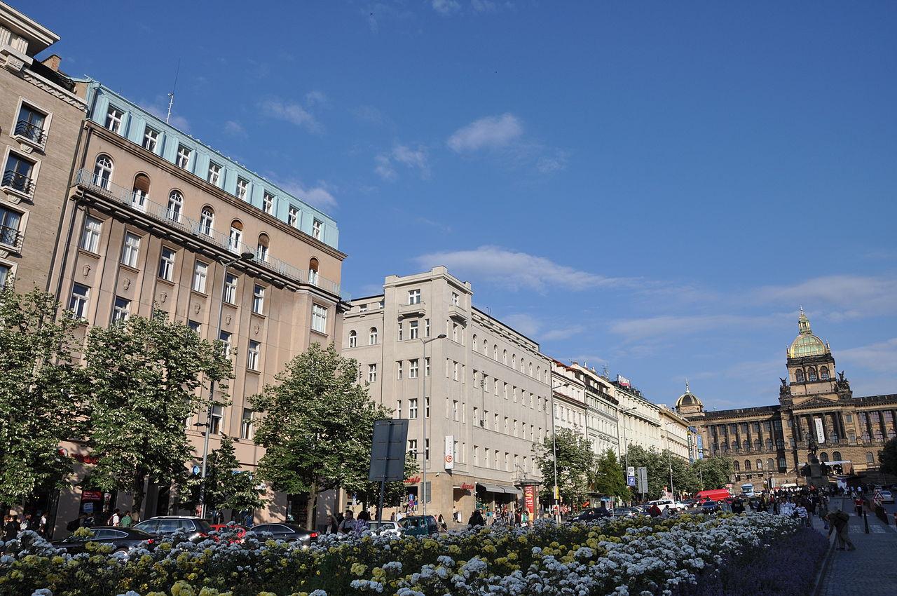 Здания на Вацлавской площади
