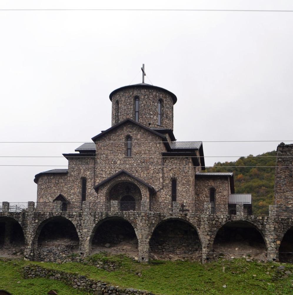 Иверский собор Аланского Успенского мужского монастыря