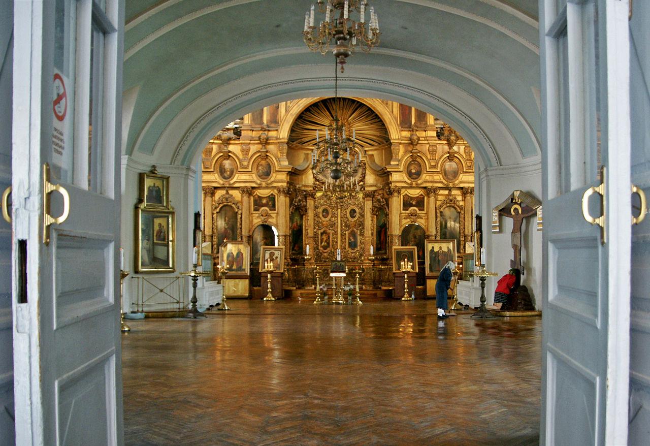 Андреевский собор Санкт-Петербурга, интерьер