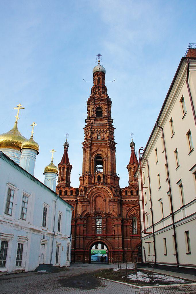 Богоявленский собор Казани, колокольня