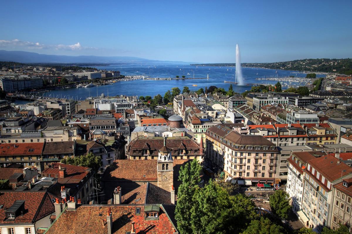 Женева картинки города