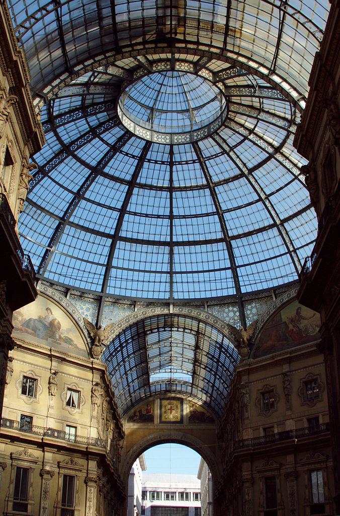 Галерея Виктора Эммануила II, центральный купол