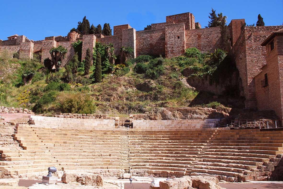 Крепость Хибральфаро в Малаге