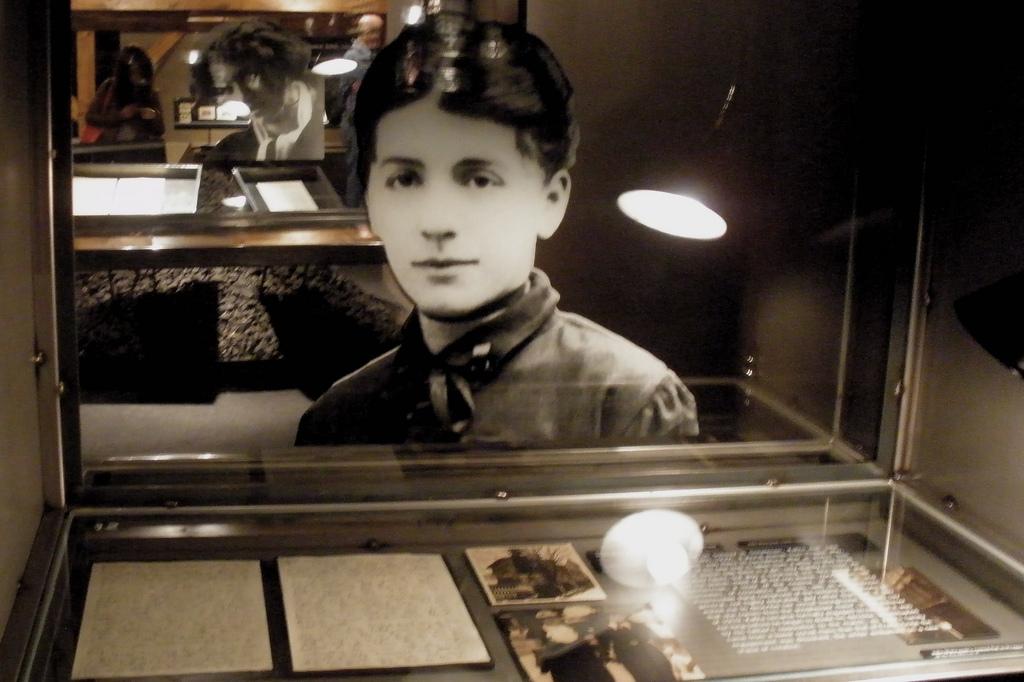 Музей Кафки, экспозиция