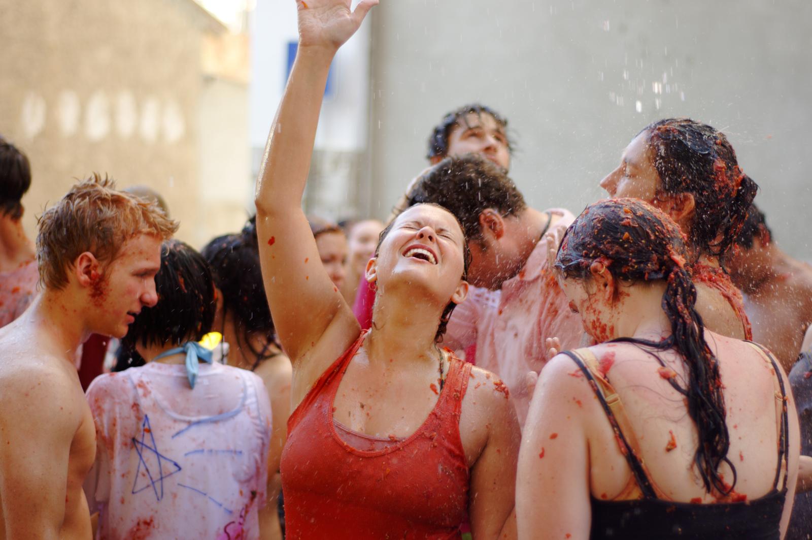 Помидорный праздник Испании