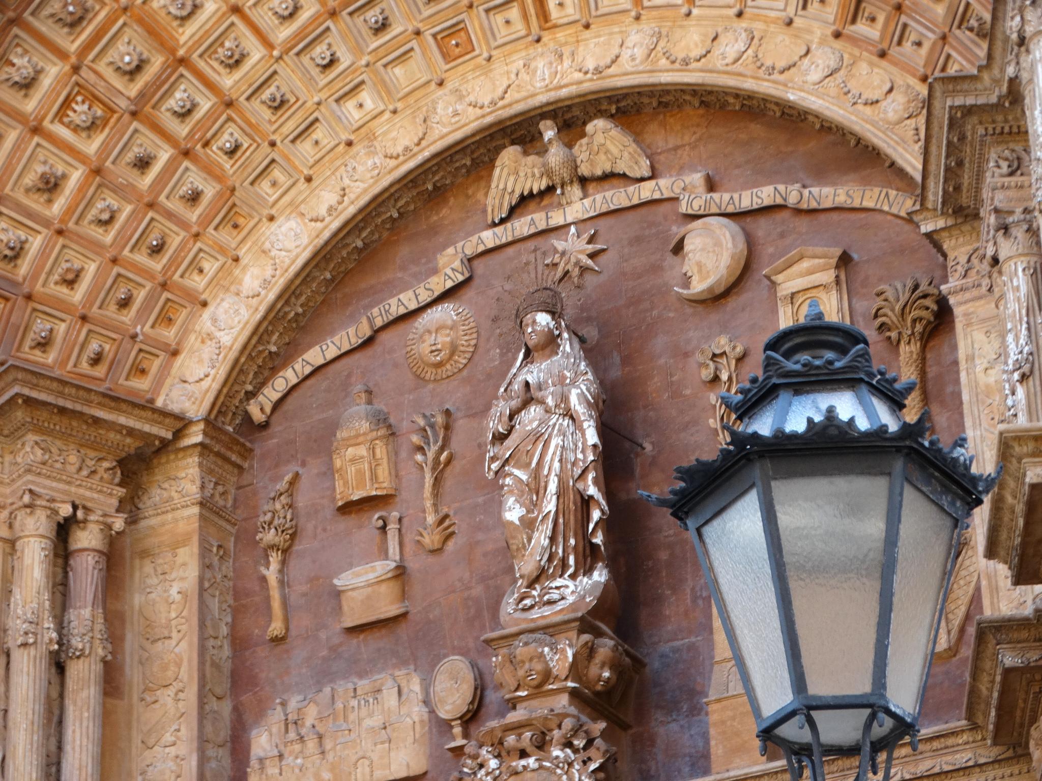 Кафедральный собор Пальма-де-Майорки, деталь портала