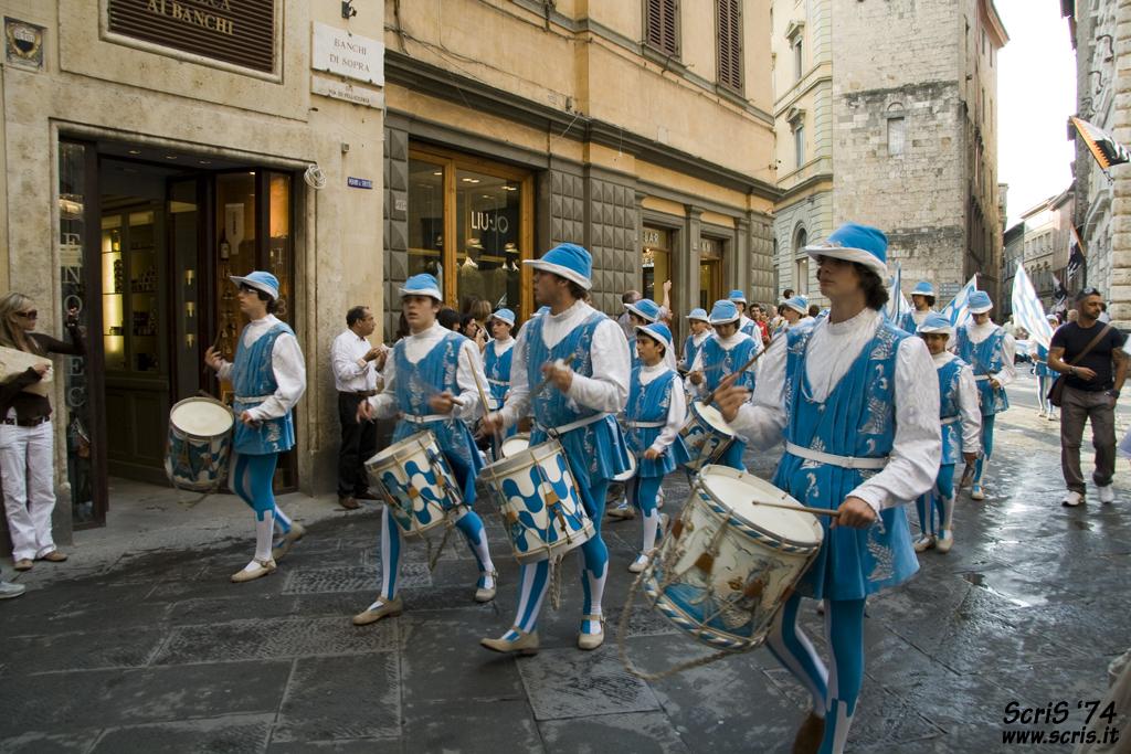 Парад в Сиене