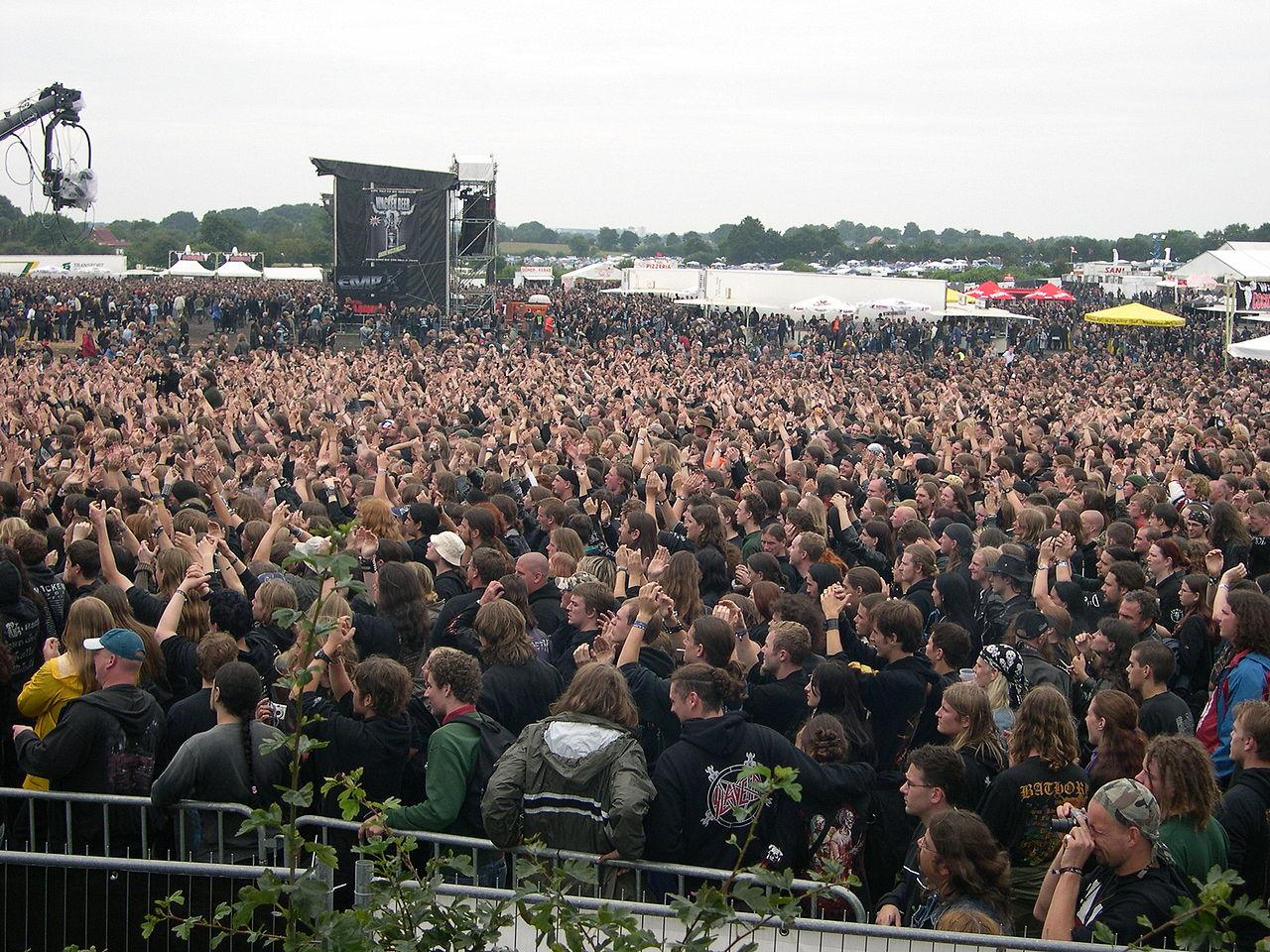 Фестиваль тяжелой музыки в Германии