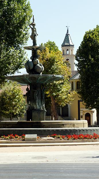 Фонтан, Гранада, Испания