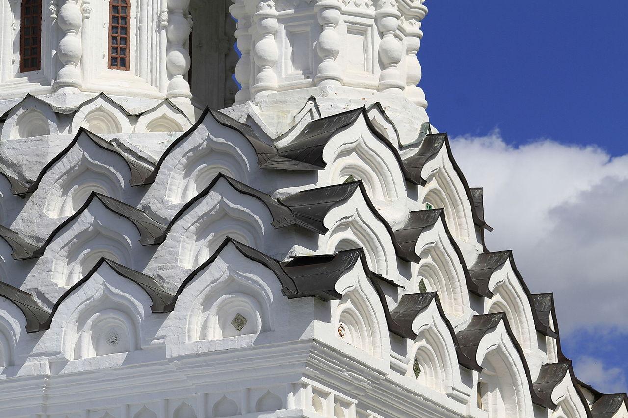 Церковь Одигитрии в Вязьме, кокошники