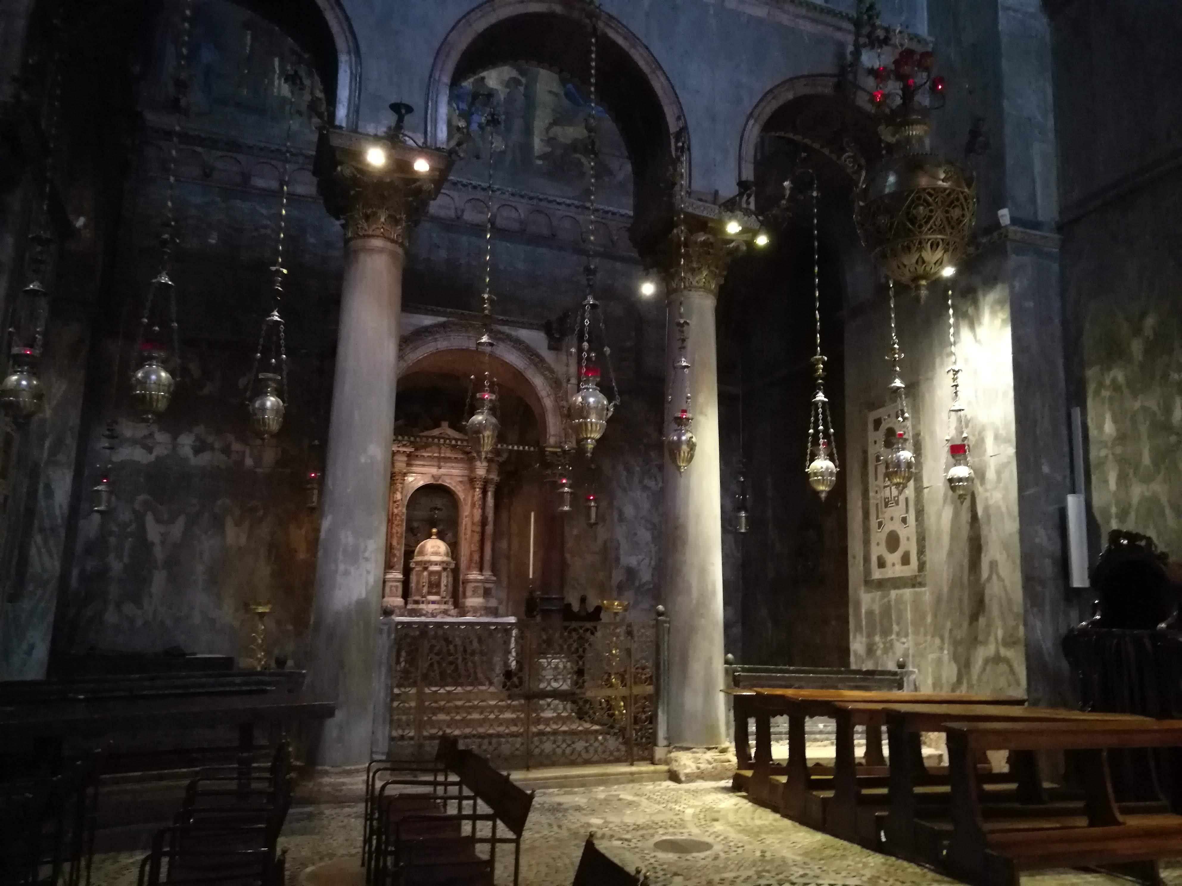 Алтарь в соборе Сан-Марко в Венеции